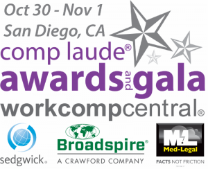 Comp Laude Logo with Partner Sponsors and medlegal